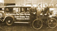 Meet The Guys Who Drove Across The U.S. In A Record 65 Hours (In 1931