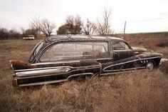 Custom 1947 Buick hearse