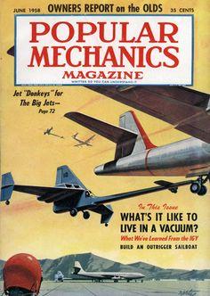 1958 Popular Mechanics cover