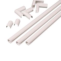 Legrand Wiremold CordMate Channel Kit, White