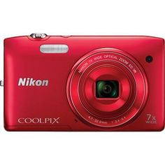Shop Nikon COOLPIX S3500 20 Megapixel Digital Camera - Red online at lowest price in india and purchase various collections of Point & Shoot Digital Cameras in Nikon brand at grabmore.in the best online shopping store in india