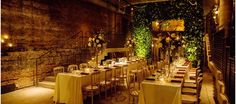 Rustic and romantic wedding at A New Leaf in Chicago had breathtaking centerpieces, an incredible custom chandelier and a foliage archway