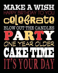 Make A Wish Happy Birthday