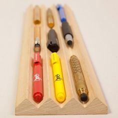 Toblerono Boxwood Organizer  www.roehampton-on...  #office #gadgets #work #design #cool