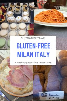My family of four visited Milan, Italy and we had a fabulous time and ate incredible gluten-free food at some of the best gluten-free Milan restaurants. Gluten Free Fast Food, Gluten Free Bakery, Gluten Free Dinner, Foods With Gluten, Sans Gluten, Gluten Free Recipes, Free Food, Oreo, Free Diet Plans