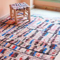 BOUCHEROUITE // 4' x 6' // Vingtage Moroccan by dearMorocco