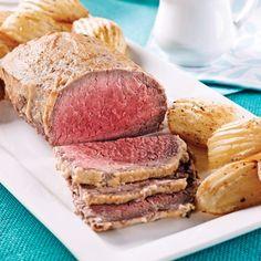 Rosbif en croûte de moutarde - 5 ingredients 15 minutes Cheat Meal, Tuna, Cravings, Sandwiches, Pork, Tasty, Healthy Recipes, Fish, Meals
