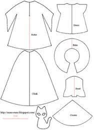 Image result for clothespin doll clothes patterns