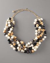 kate spade Twisted Beaded Necklace