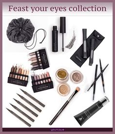 Feast your eyes collection from Younique. Younique products are hypo-allergenic, cruelty free with no harmful chemicals https://www.youniqueproducts.com/Jillysb/products/view/US-42016-06