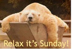 Relax - It's Sunday