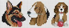 Cross Stitch Needles, Cross Stitch Charts, Cross Stitch Patterns, Plastic Canvas Stitches, Plastic Canvas Patterns, Cross Stitching, Cross Stitch Embroidery, Pixel Art Templates, Stitch Cartoon