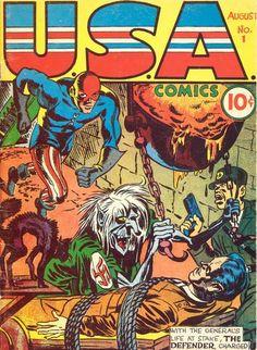 USA Comics #1