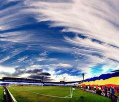 El Cielo Es Azul Y Mi Pañuelo Blanco Mi Equipo Millonarios!! Football Team, Hip Hop, Clouds, Carp, Grande, Ballet, Outdoor, Fashion, Love