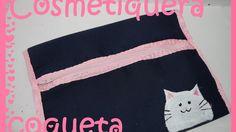 Cosmetiquera Coqueta FÁCIL- Tutorial - DIY