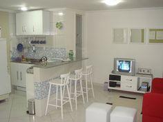 cozinha america simples com sala de jantar - Pesquisa Google