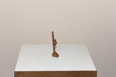 Cícero Alves dos Santos - Véio | O pau de sebo, 2014 | Madeira | 11 x 1,5 x 2,5 cm