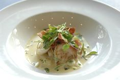 Cod Cheeks-pan fried in butter recipe. This tempting starter was cooked by Jamie Bridgett (representing Cheshire) during the 2010 North West Young Chef How To Cook Cod, How To Cook Fish, Cod Recipes, Fish Recipes, Lemon Potatoes, Cod Fish, Best Chef, Butter Recipe