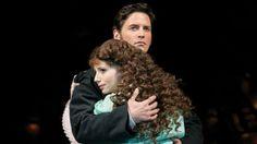 Sean Palmer as Raoul and Sofia Escobar as Christine in The Phantom of the Opera