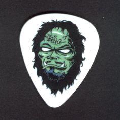KIRK HAMMETT Guitar Pick Metallica Monster Nice creepy pick! collectors item
