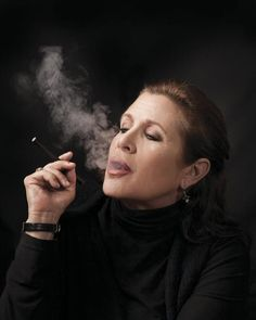 Carrie Fisher, the rebel