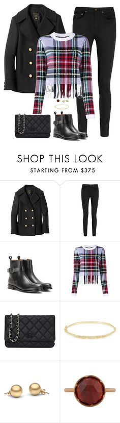 """""""Untitled 290 (Fall/Winter)"""" by maddkat ❤ liked on Polyvore featuring Balmain, Yves Saint Laurent, Church's, Chloé, Chanel, Maria Black and Irene Neuwirth"""