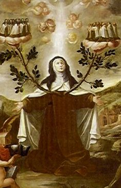 """Feast of All Carmelite Saints {Nov.14}  """"What numbers of saints we have in heaven who have worn this habit of ours!  We must have the holy audacity to aspire, with God's help, to be like them.  The struggle will not last long, but the outcome will be eternal."""" ~ St. Teresa of Avila"""