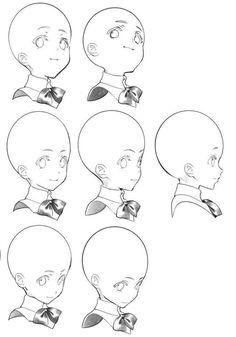 얼굴 구도 how to draw anime Drawing Heads, Drawing Base, Figure Drawing, Manga Drawing Tutorials, Drawing Sketches, Art Drawings, Drawing Tips, Pencil Drawings, Digital Painting Tutorials