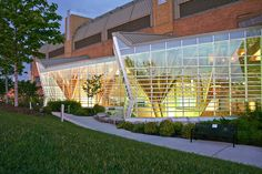 Glulam Hospital Design - Credit Valley Hospital in Mississauga, Ontario by The Farrow Partnership