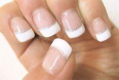 Resultado de imagen de french gel nails