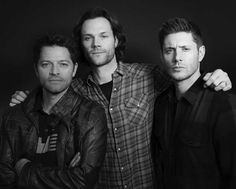 Jared Padalecki, Misha Collins, Jensen Ackles, Supernatural, Che Guevara, Couple Photos, Couple Shots, Occult