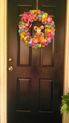 Easter wreath on my door!