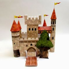 Mike the Knight Papercraft Castle