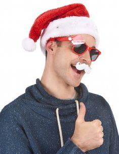 Blanc brodé Baby Bonnet de Père Noël Cadeau Plain