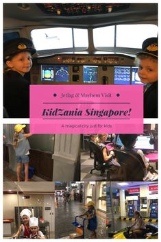 Have you ever been to a KidZania? This mini kids city is an all time hit with my kids!