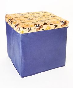 Pirate Cube Storage Box #zulilyfinds