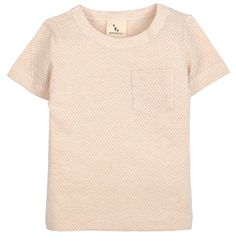 Organic Cotton Unisex Baby Short Sleeve Tee Shirt Top All Natural DyeFree Brown 24M -- You can get additional details at the image link.