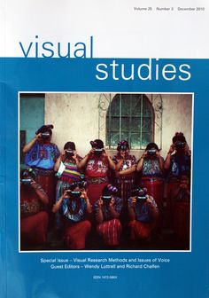 Visual Studies (cover of journal) Research Methods, Sociology, Study, Culture, Journal, Cover, Studio, Investigations, Journal Entries