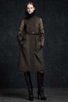 Belstaff Fall 2012 Ready-to-Wear Fashion Show - Frida Gustavsson