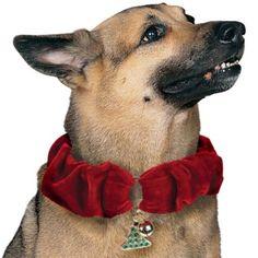Love this Christmas Dog Collar