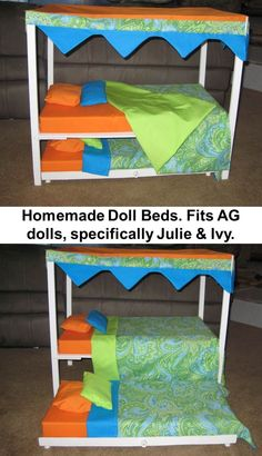 Homemade Doll Bed