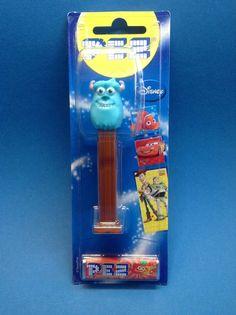 PEZ Spender Sully Monster AG und eine Packung Bonbons NEU/OVP in Sammeln & Seltenes, Weitere Sammelgebiete, PEZ   eBay