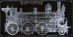 Картина «Giger — Express | Гигер — Экспресс»