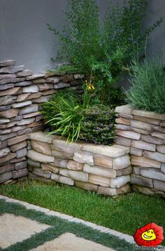 a great idea of a retaining wall landscaping designretaining - Landscape Design Retaining Wall Ideas