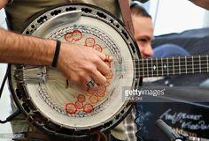 News Photo : Scott Avett of The Avett Brothers performs on The...