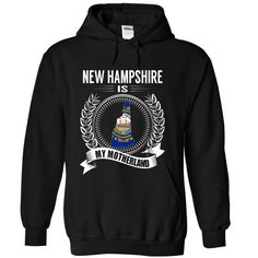 New Hampshire is My ⊰ MotherlandNew Hampshire is My Motherland. These T-Shirts and Hoodies are perfect for you! Get yours now and wear it proud!keywords