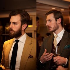 Cad And The Dandy looking dapper at#detailsofagentlemen event. #menswear #fashion #accessories #london #style #city #SavilleRow