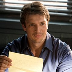 Nathan Fillion Castle He Really Is Ruggedly Handsome Tv
