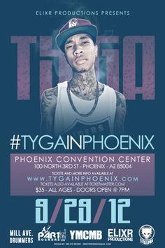 TYGA @ the Phoenix Convention Center 09.29.12