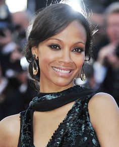 Best Beauty Moments from the 2014 Cannes Film Festival - Zoe Saldana from #InStyle
